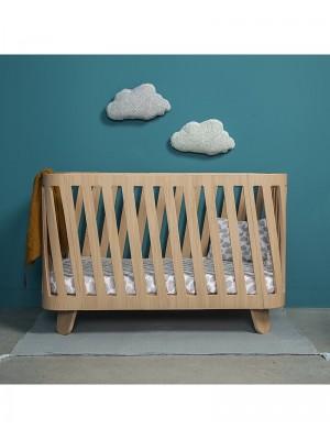 Raztegljiva otroška postelja MUKA, 90-120 cm, Charlie Crane