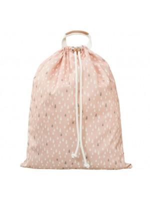 Velika torba za igrače Fresk, kapljice roza