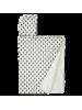 Brisača s kapuco Fresk 100x75 cm, ananas, bio bombaž