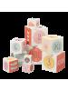 Igralne kocke za malčke Fresk, roza