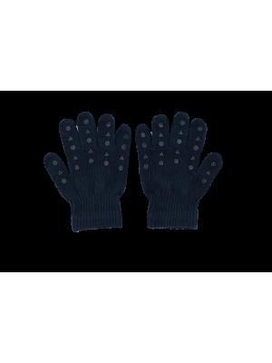 Antislip rokavičke iz bombaža, petrolej modra