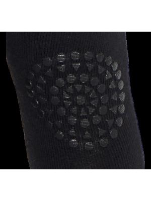 Kolenčniki z gumijastimi čepki, črna
