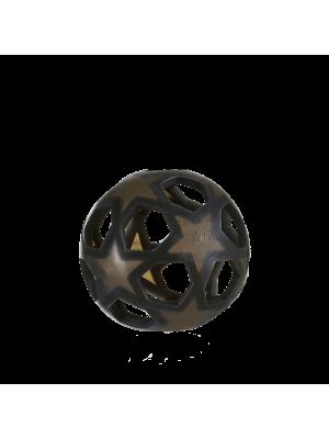 Hevea starball žogica iz naravnega kavčuka, črna