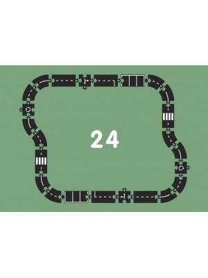 Igralna cesta Waytoplay HIGHWAY, 24 delna